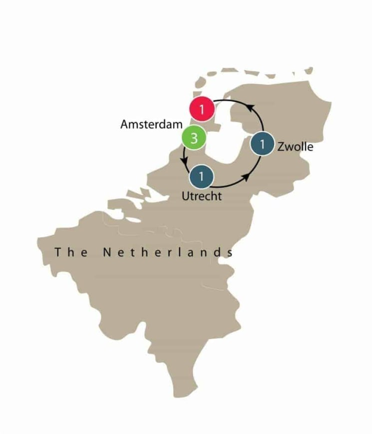 Dutch Tulips | Netherlands Small Group Tours itinerary