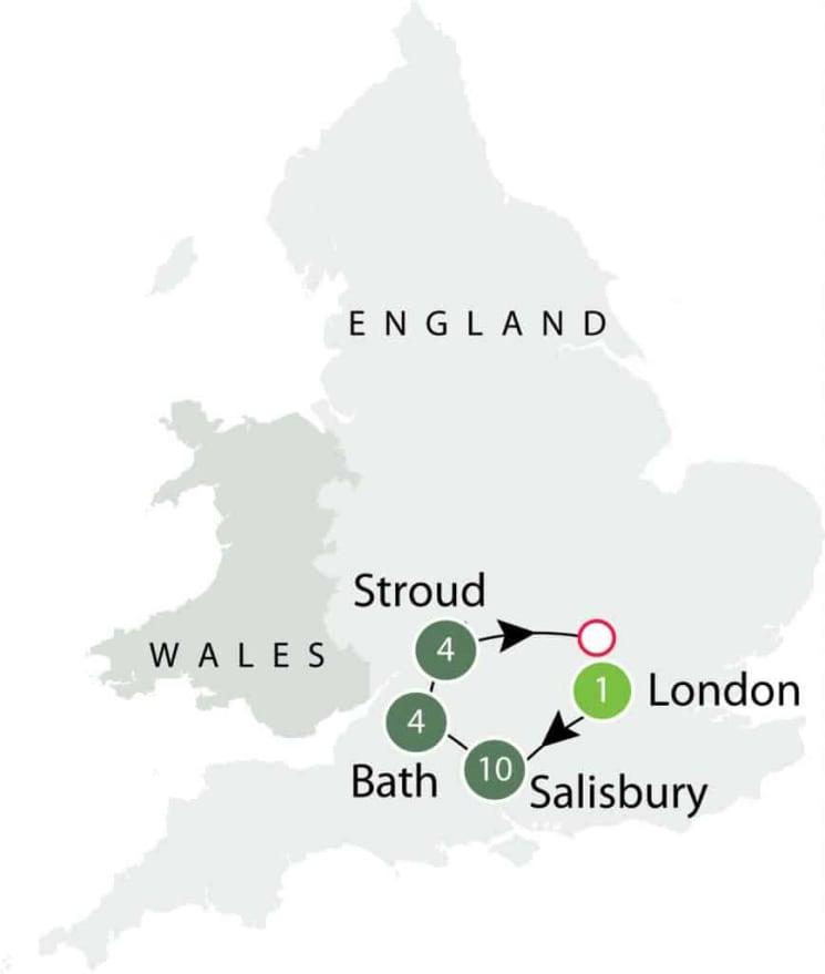 Walking Ancient Britain itinerary
