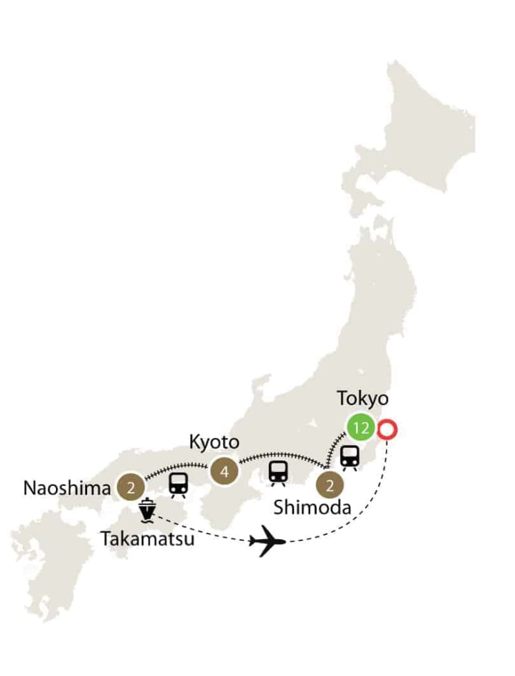 Contemporary Japan | Small Group Tour itinerary