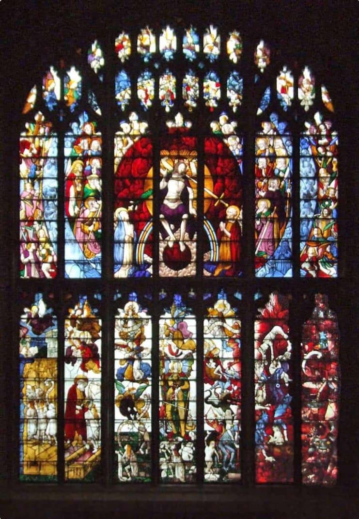 St Mary's Church, Fairford, Gloucestershire