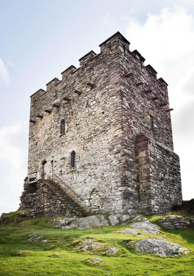 Dolwyddelan Castle in Wales