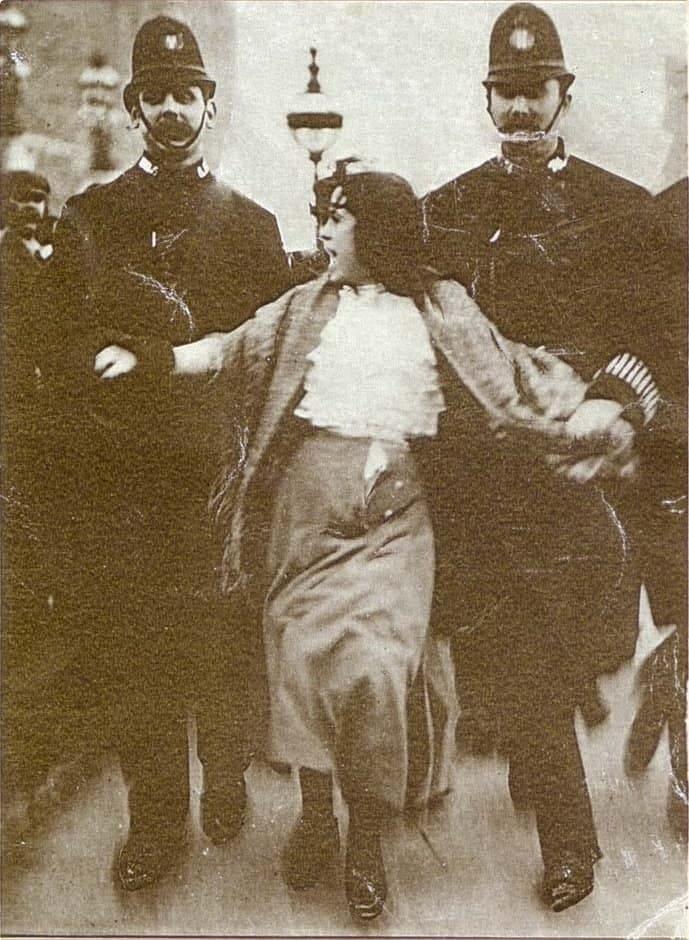 1907 arrest of Dora Thewlis