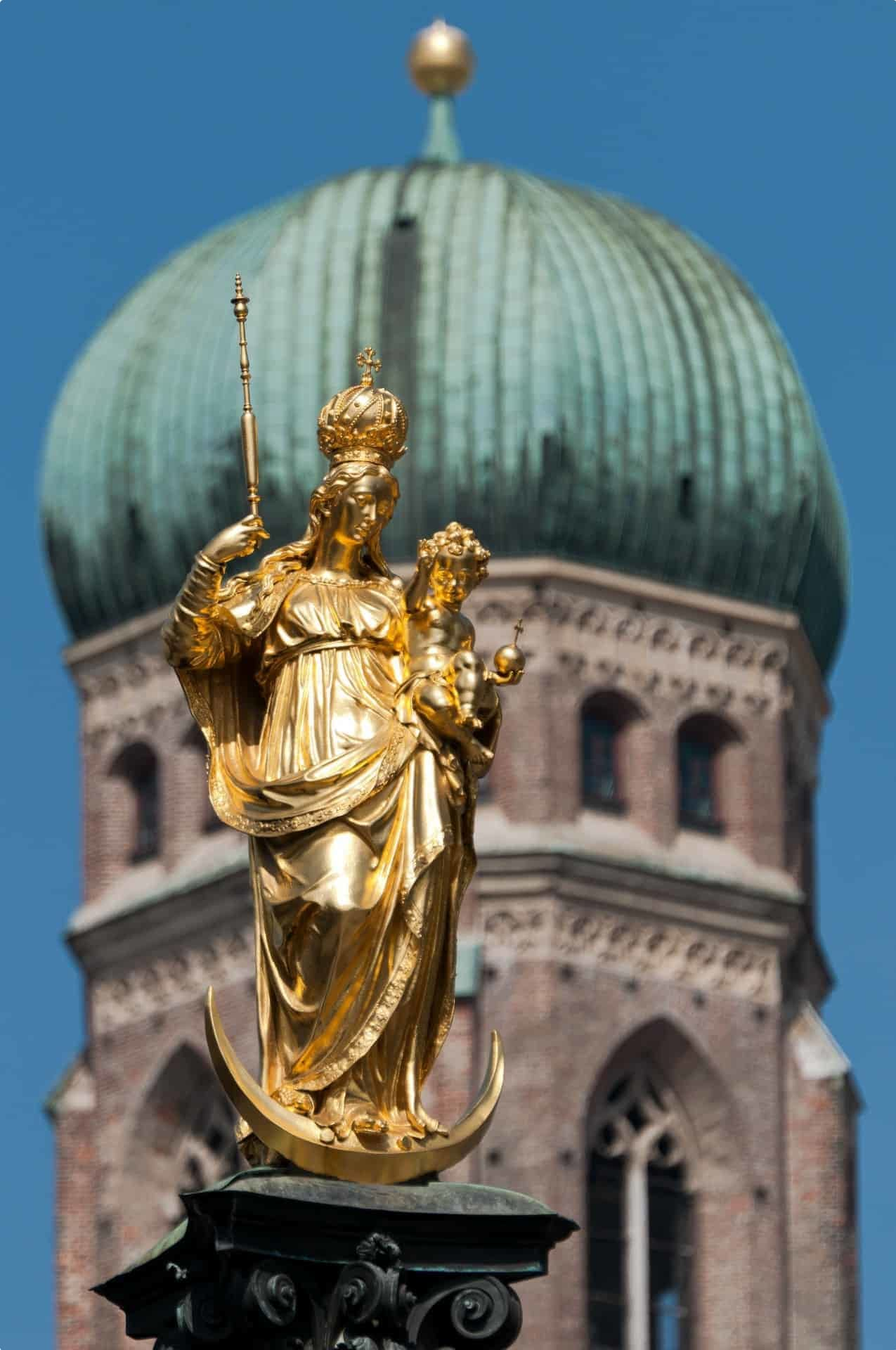 Munich Frauenkirche or Cathedral of our Lady in Munich, Germany