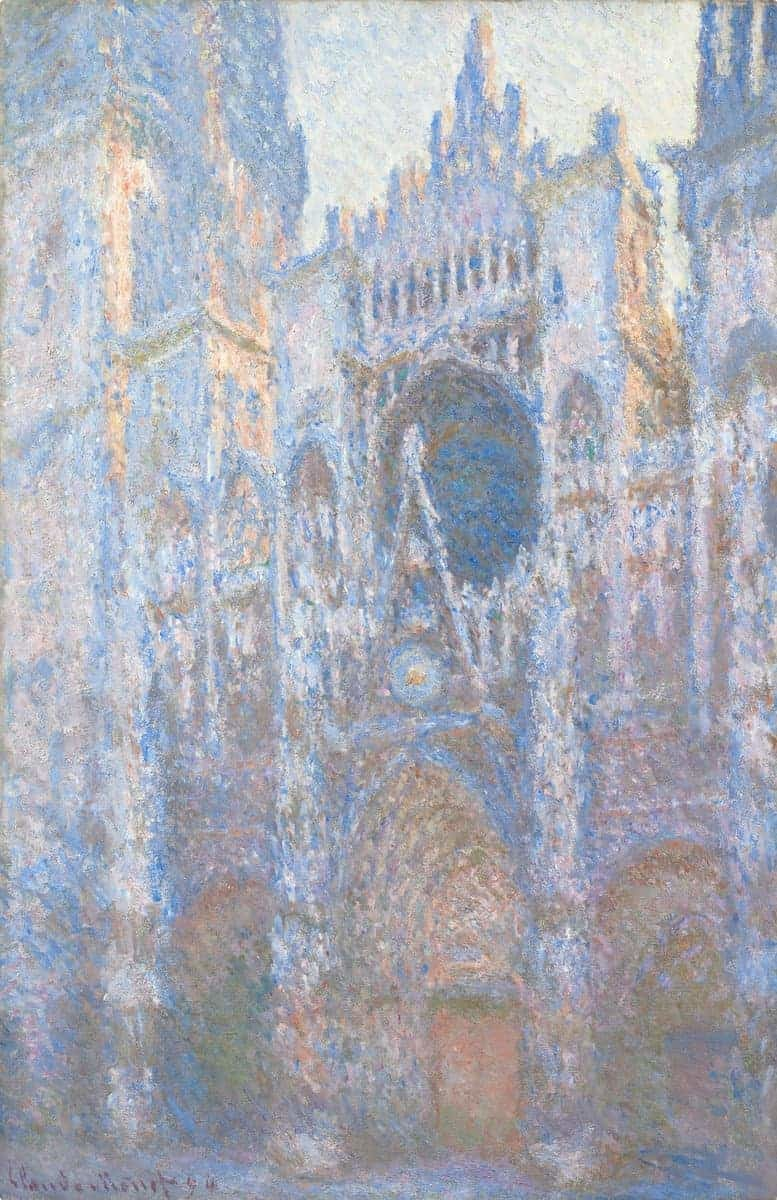 Claude Monet (French, 1840 - 1926), Rouen Cathedral, West Façade, 1894, oil on canvas, Chester Dale Collection 1963.10.49