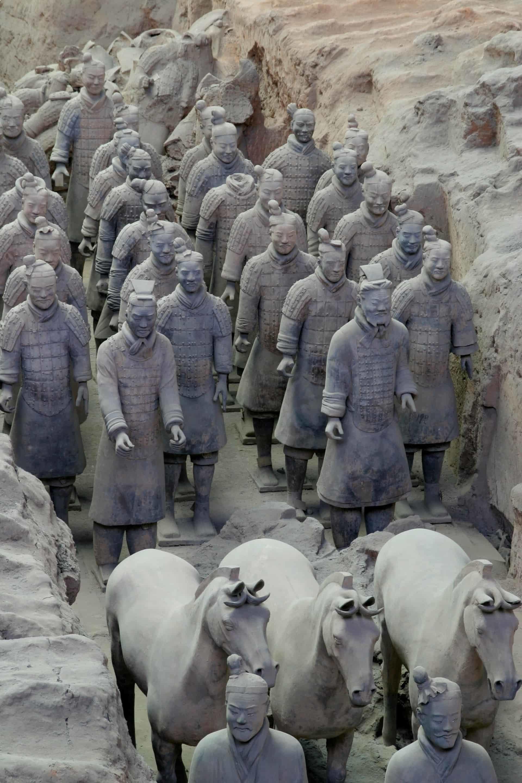 Terracotta Warriors of Xian, China