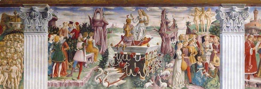 Decoration in the Palazzo Schifanoia
