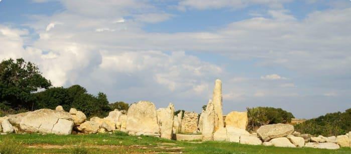 Malta ancient temples