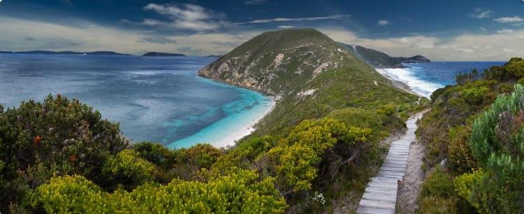 Coastline near Albany, Western Australia.