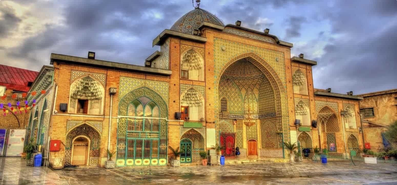 Zaid Mosque in Tehran Grand Bazaar