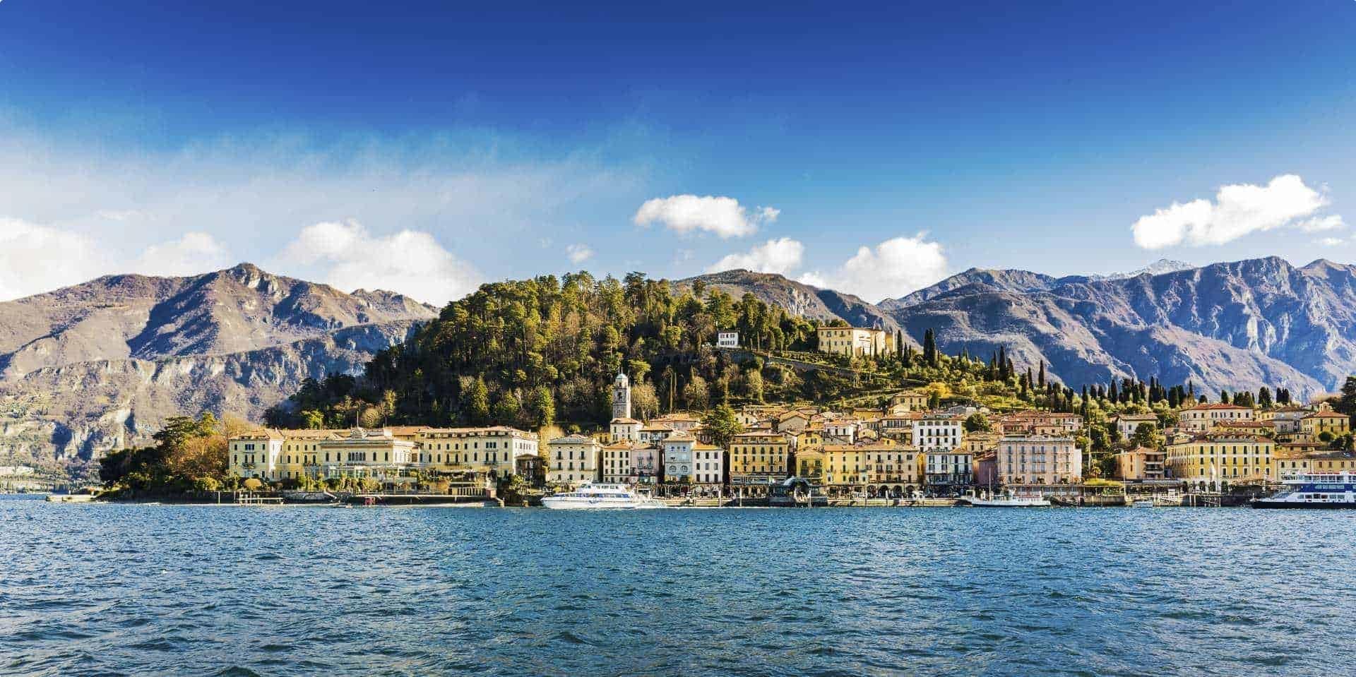 Northern Italian lakes small group Lake Como