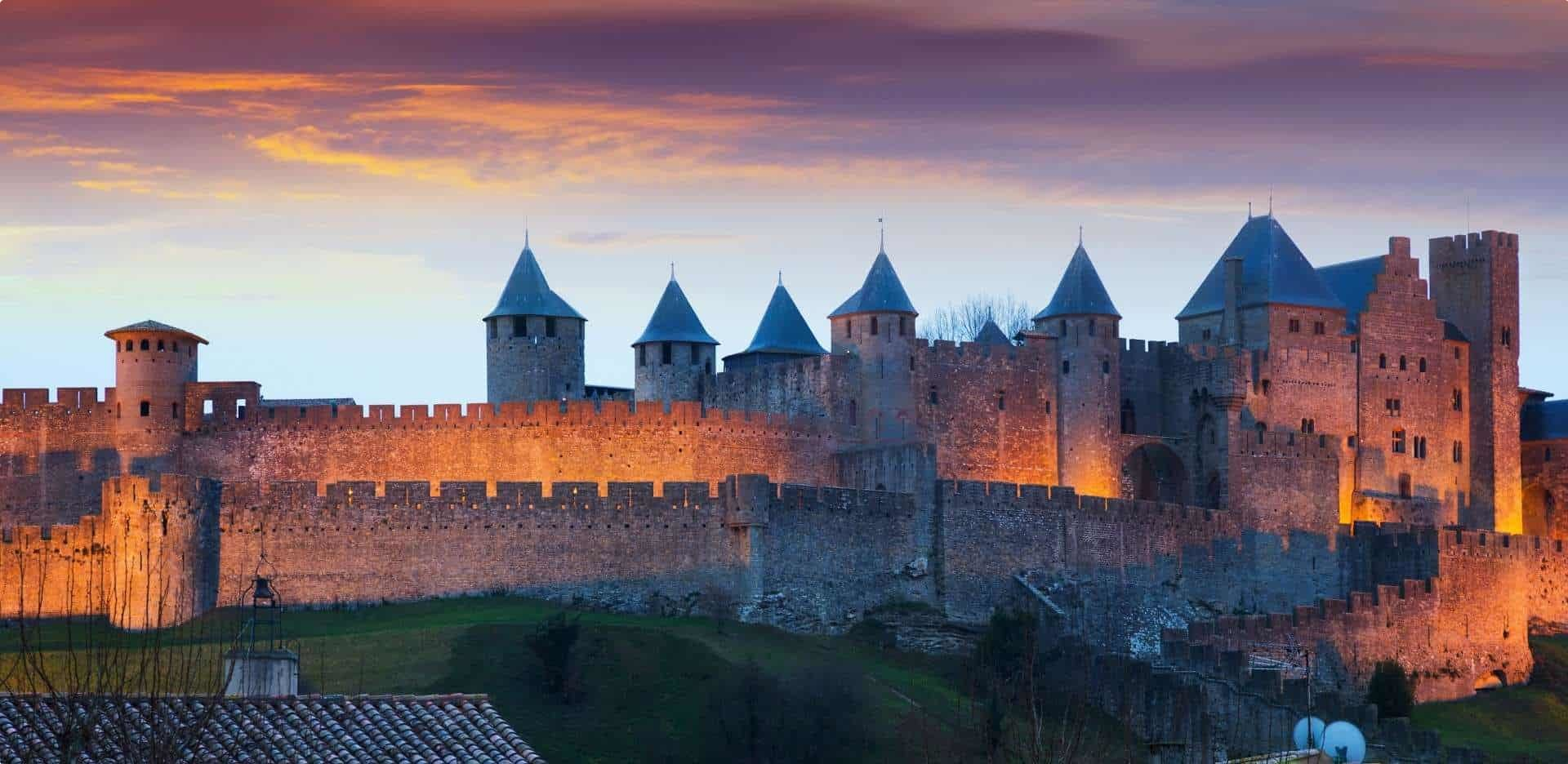 French history; Carcassonne