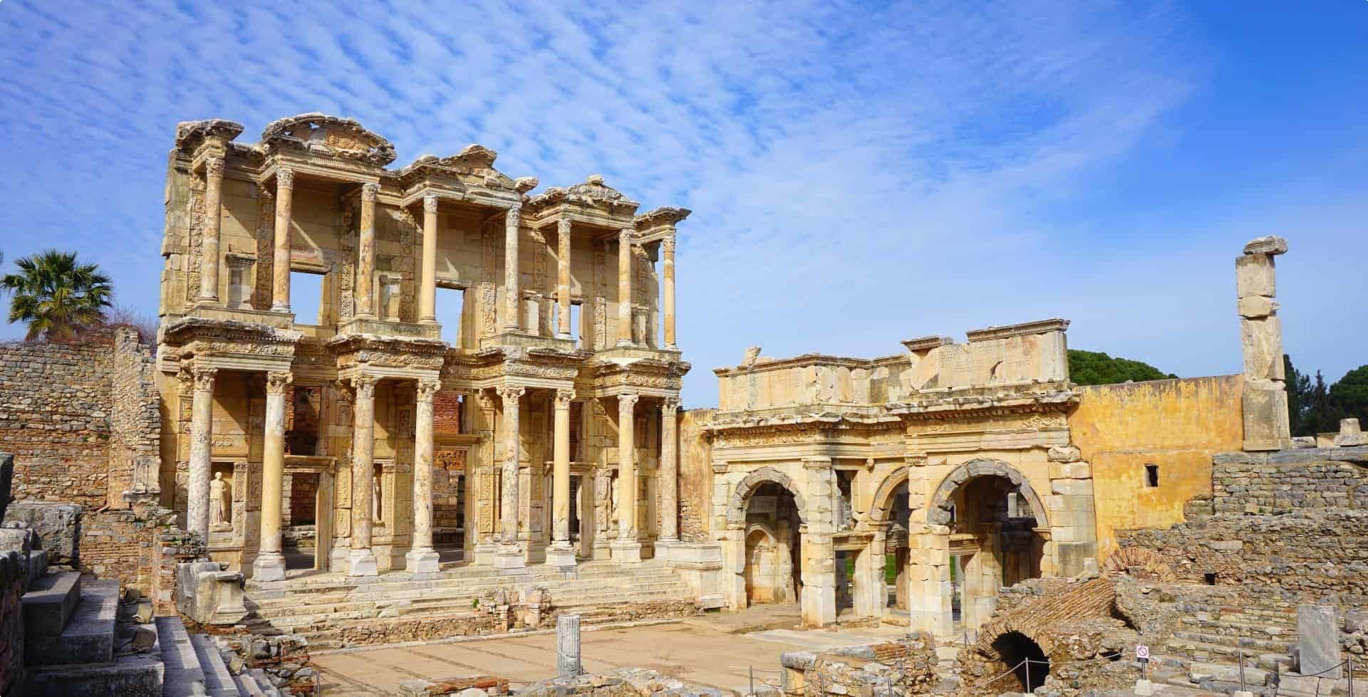 Library of Celsus - Turkey Small Group Tour