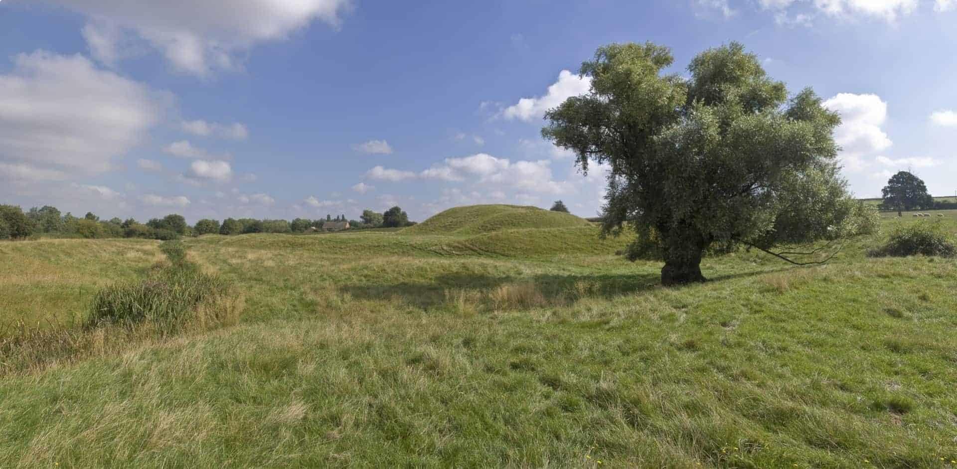 Ancient Motte Castle and Bailey