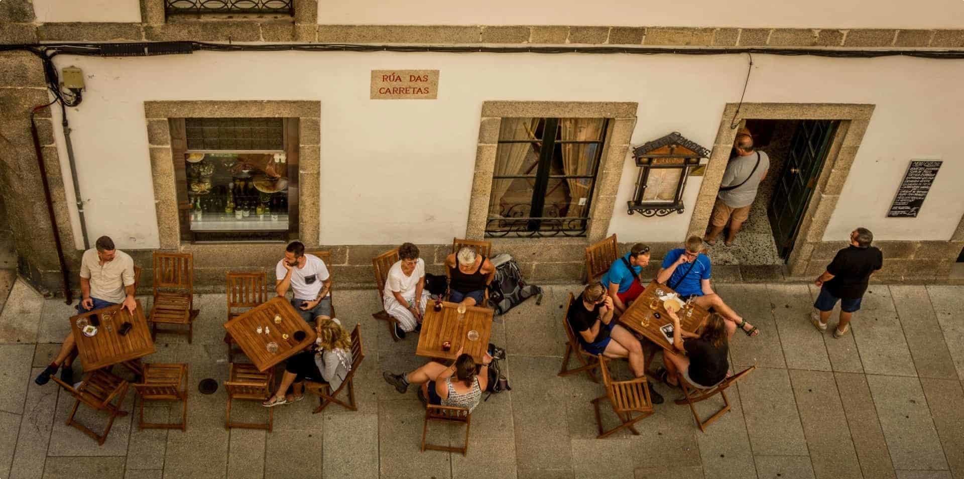 Santiago de Compostela is a famous pilgrimage destination.
