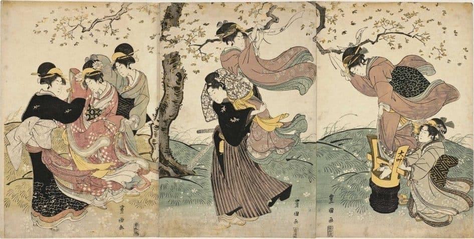 By: Toyokuni (歌川豐國) (1769–1825) � Description Japanese ukiyo-e artist Date of birth/death 1769 24 February 1825 Location of birth/death Edo Edo Authority control VIAF: 20873990 LCCN: n80038350 GND: 133451666 ULAN: 500081100 , Courtesy: Wikimedia Commons