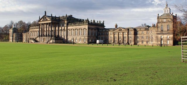 Front of Wentworth Woodhouse, Yorkshire, England
