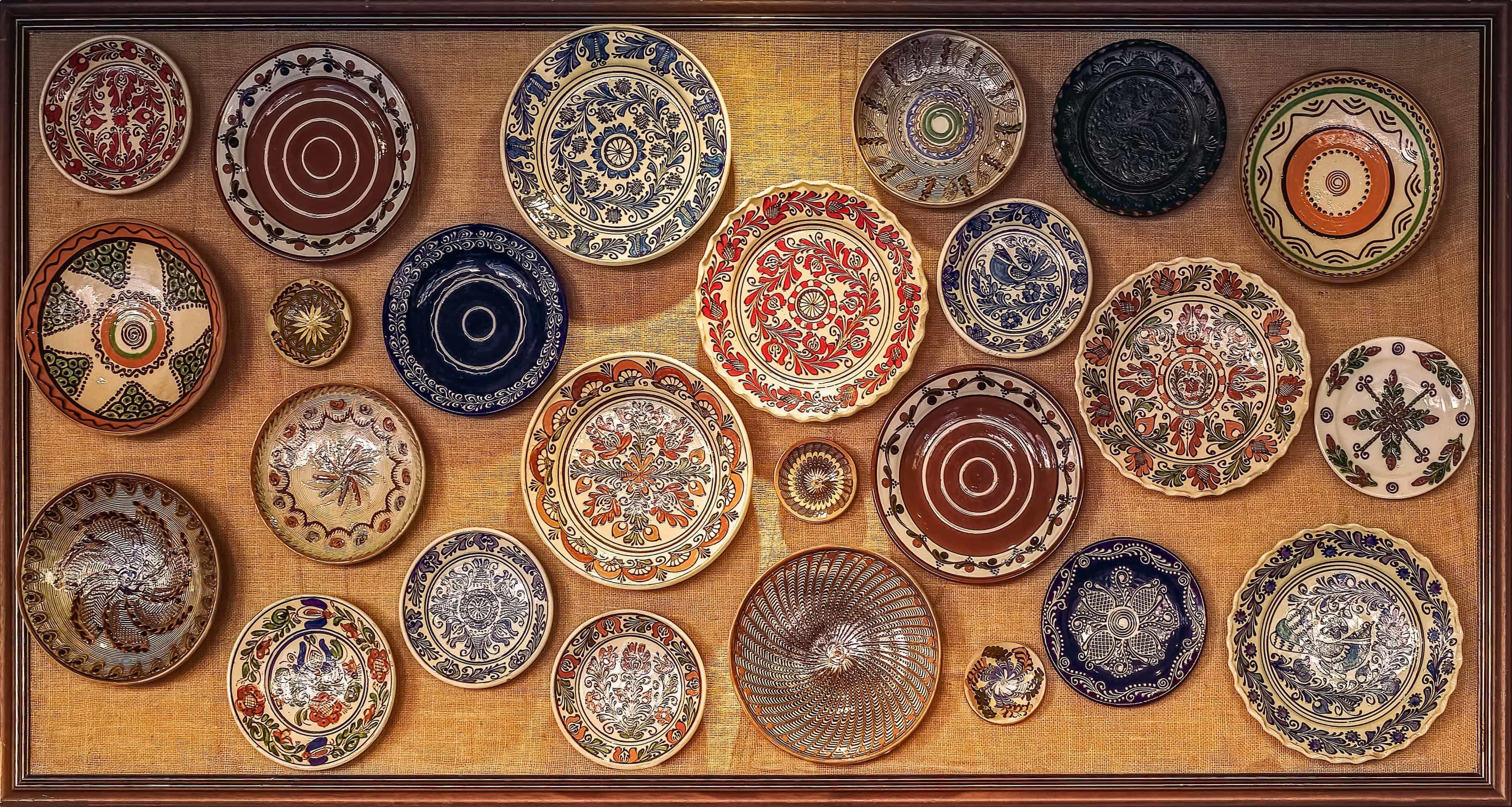 Horezu ceramics.