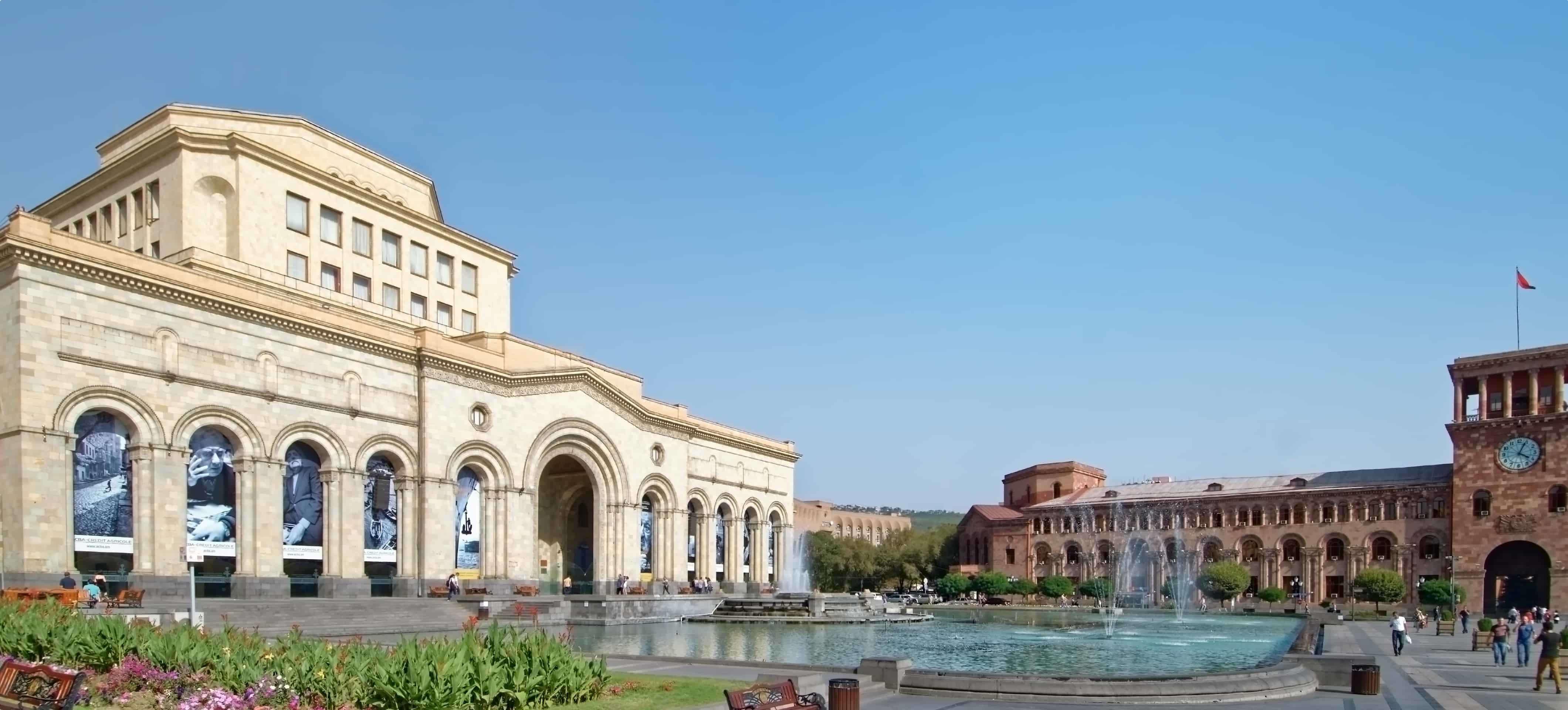 Republic Square Yerevan, Armenia
