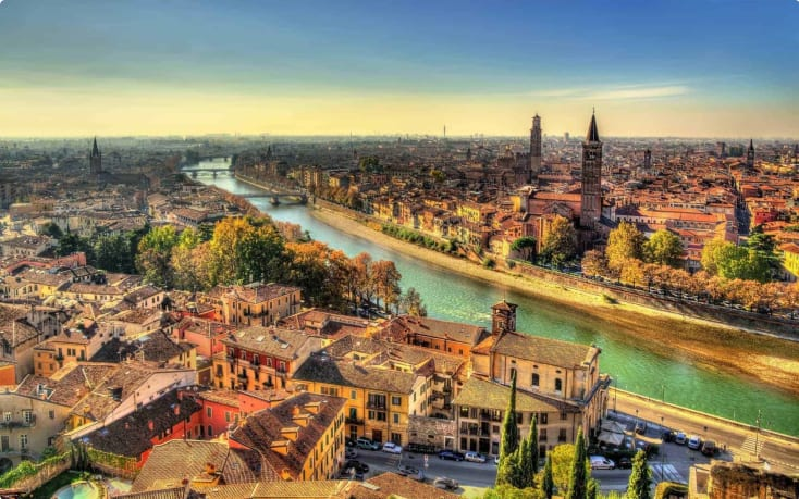 Panorama Verona Italy