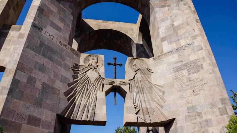 Gate of Echmiadzin Cathedral