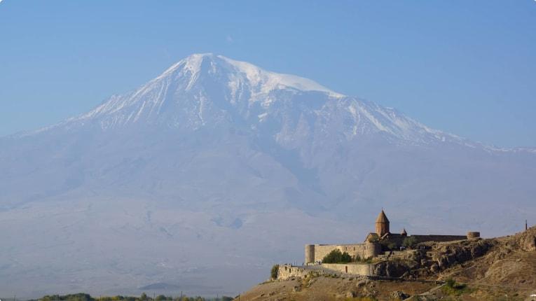 Khor Virap Monastery and Mt. Ararat