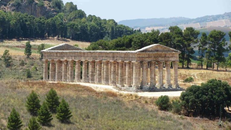Greek ruins in Segesta