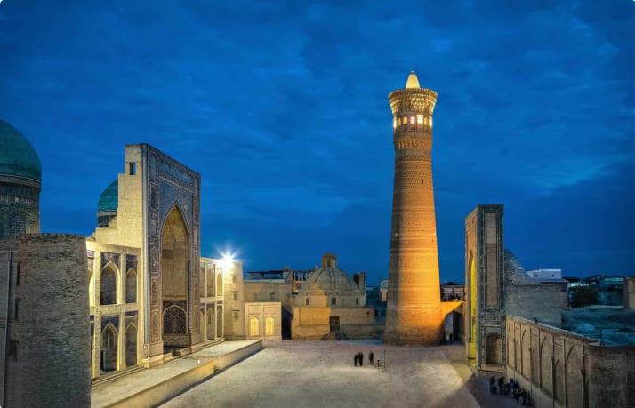Kalon Minaret and mosque