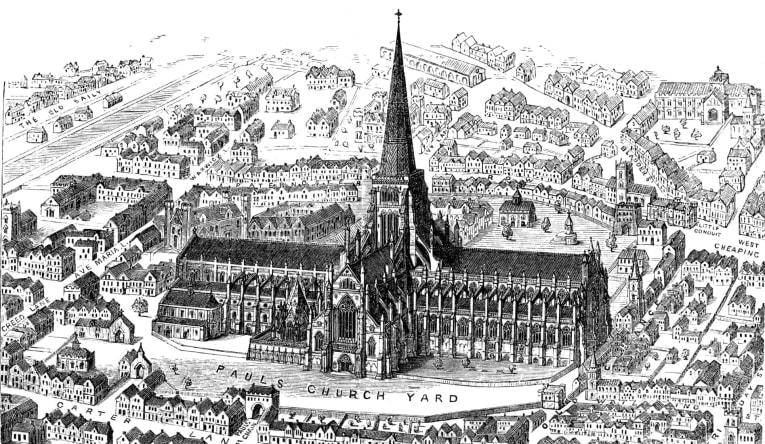 Old St Paul's Cathedral