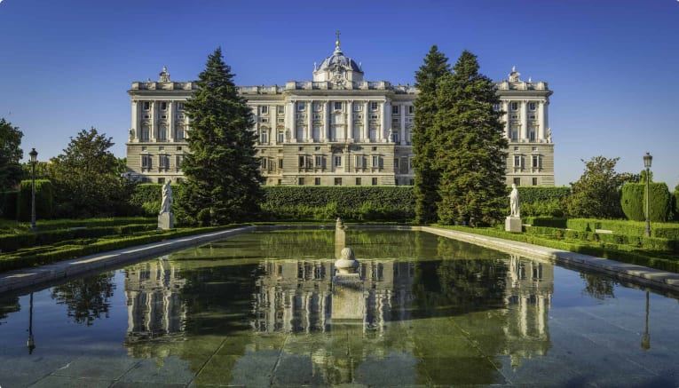 The Royal Palace of Madrid, Spain