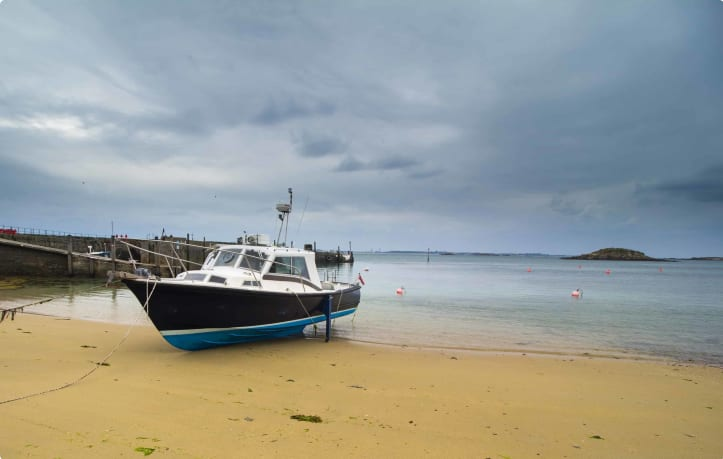 Herm beach