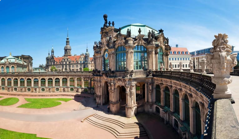 The Zwinger Palace, Dresden, Germany