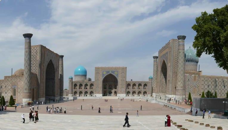 Registan Square Uzbekistan