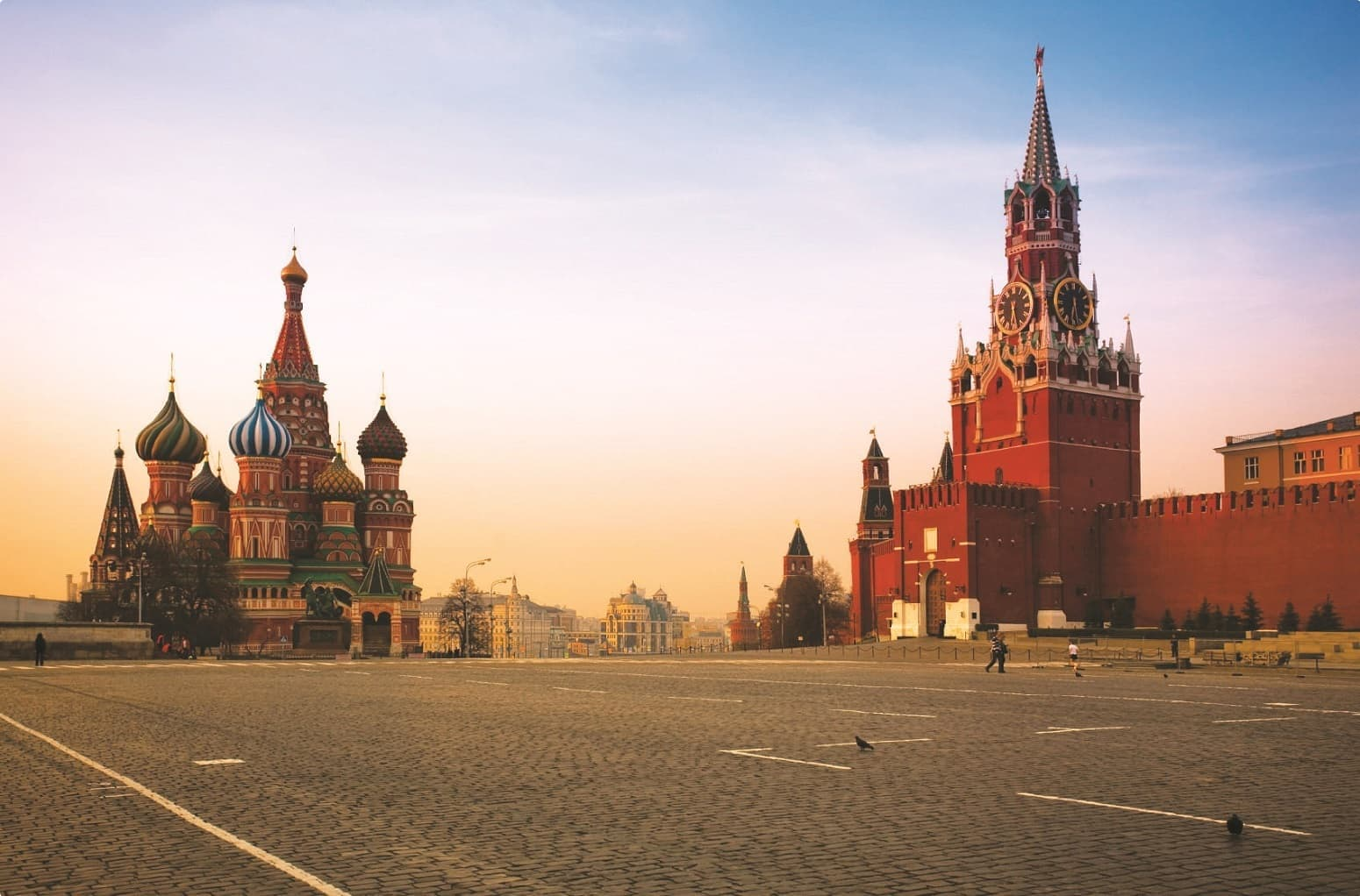 Red Square Kremlin Moscow Russia