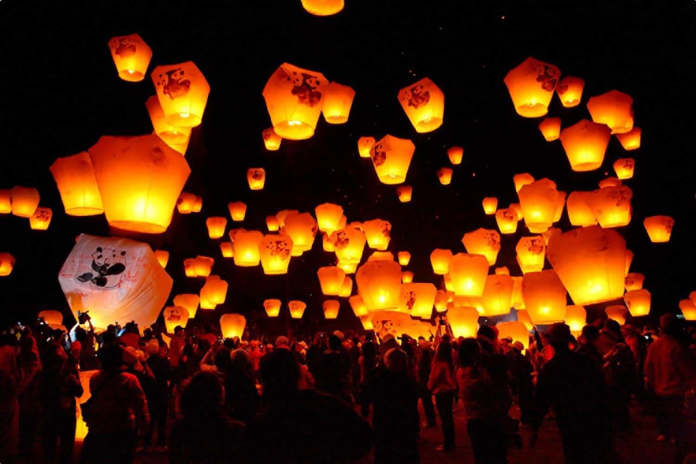 Lanterns in Taiwan