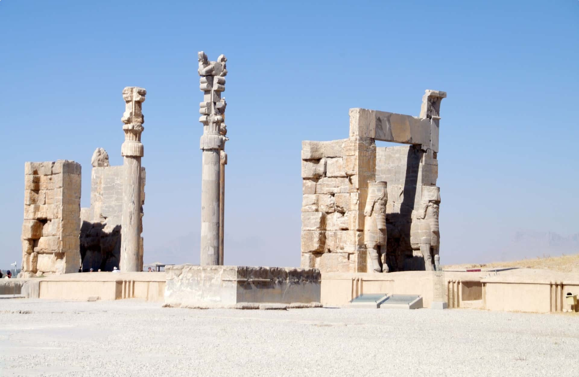 Touring Persepolis in Iran