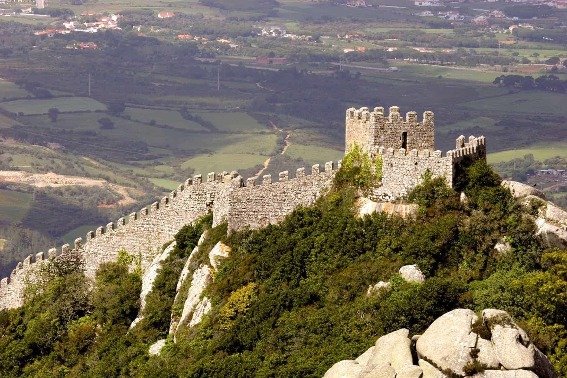 Sintra, Portugal Castelo dos Mouros