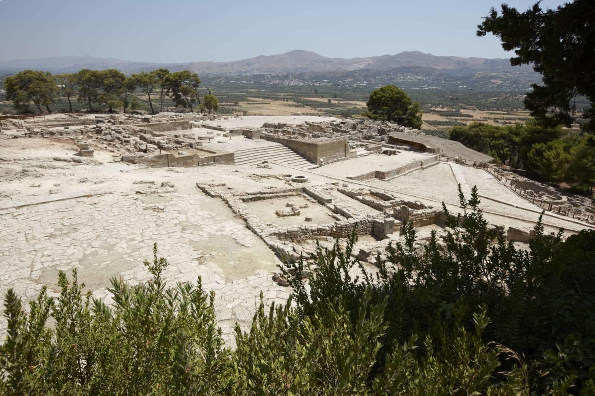 Minoan ruins, Greece