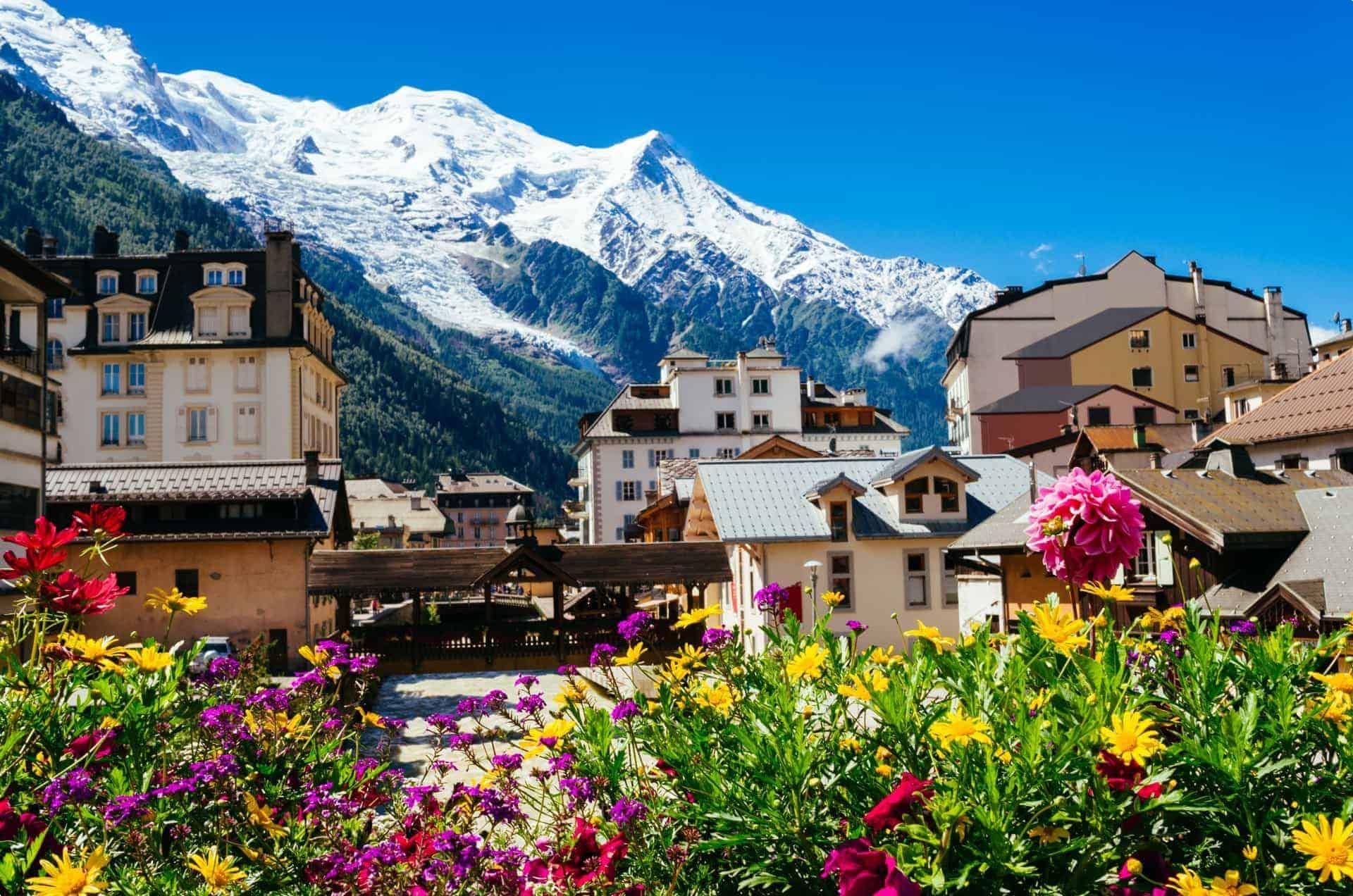 Mont Blanc Massif, French Alps