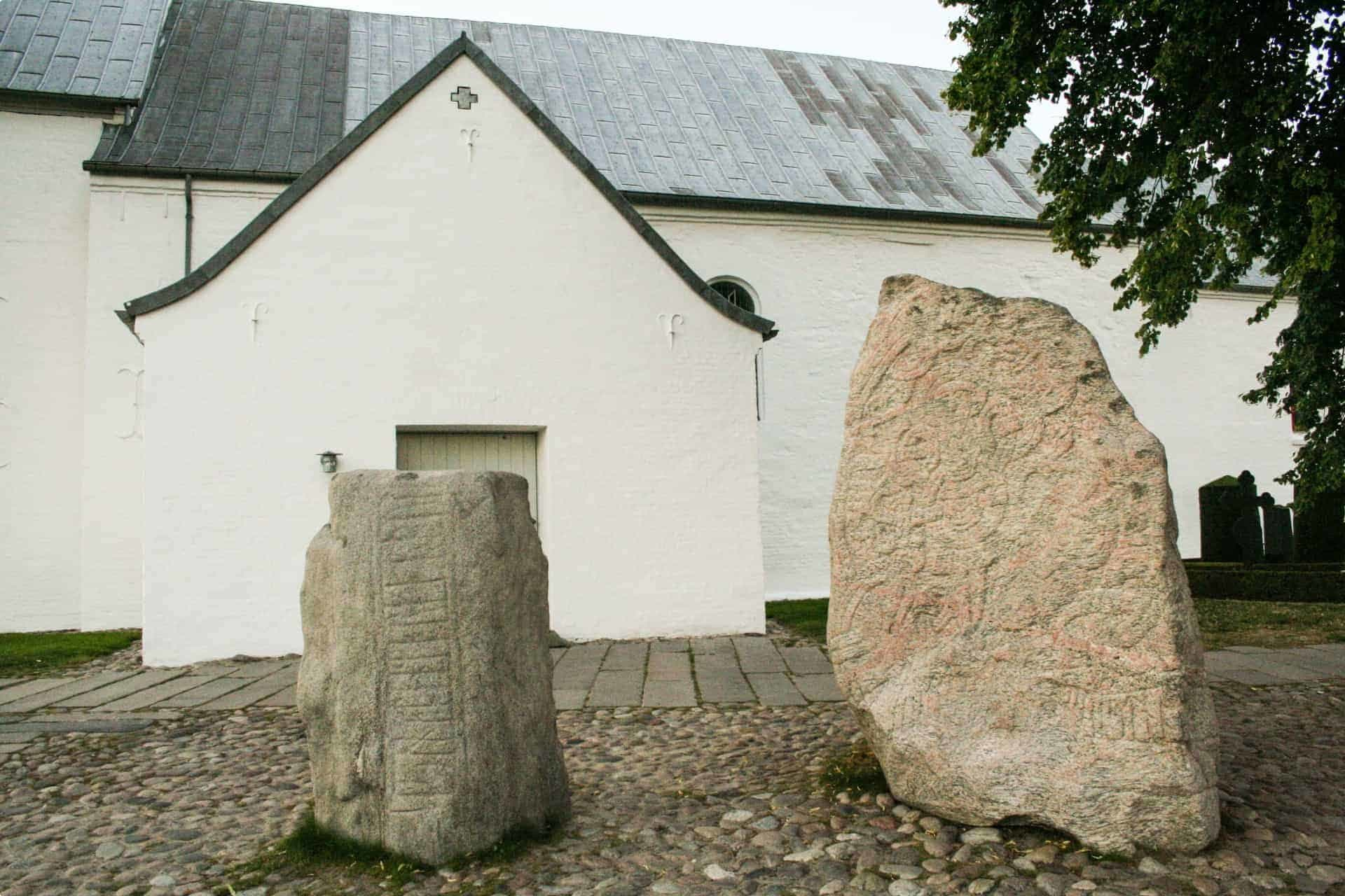 Jelling Stones Scandinavian spirit