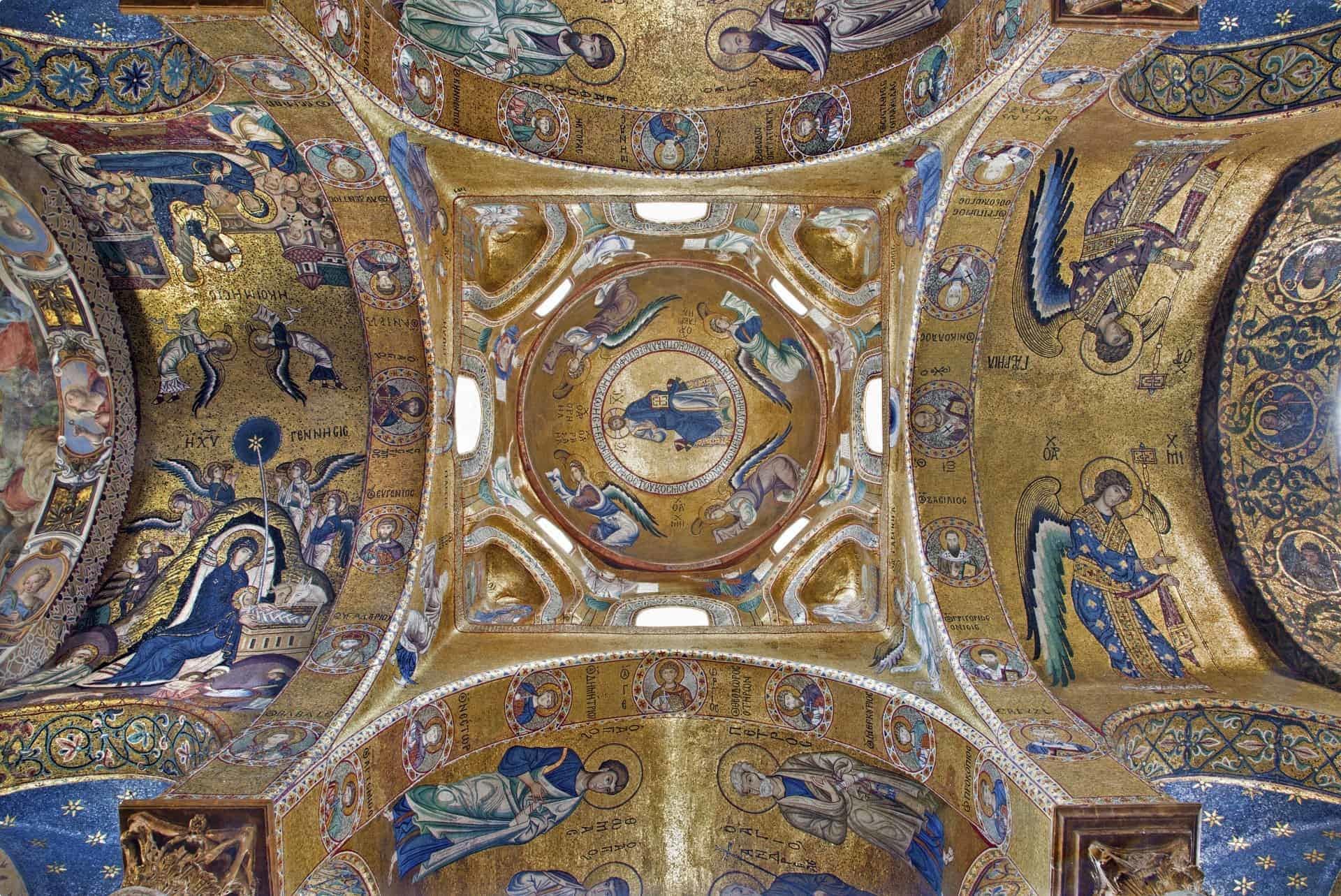 Mosaic from La Martorana, Sicily