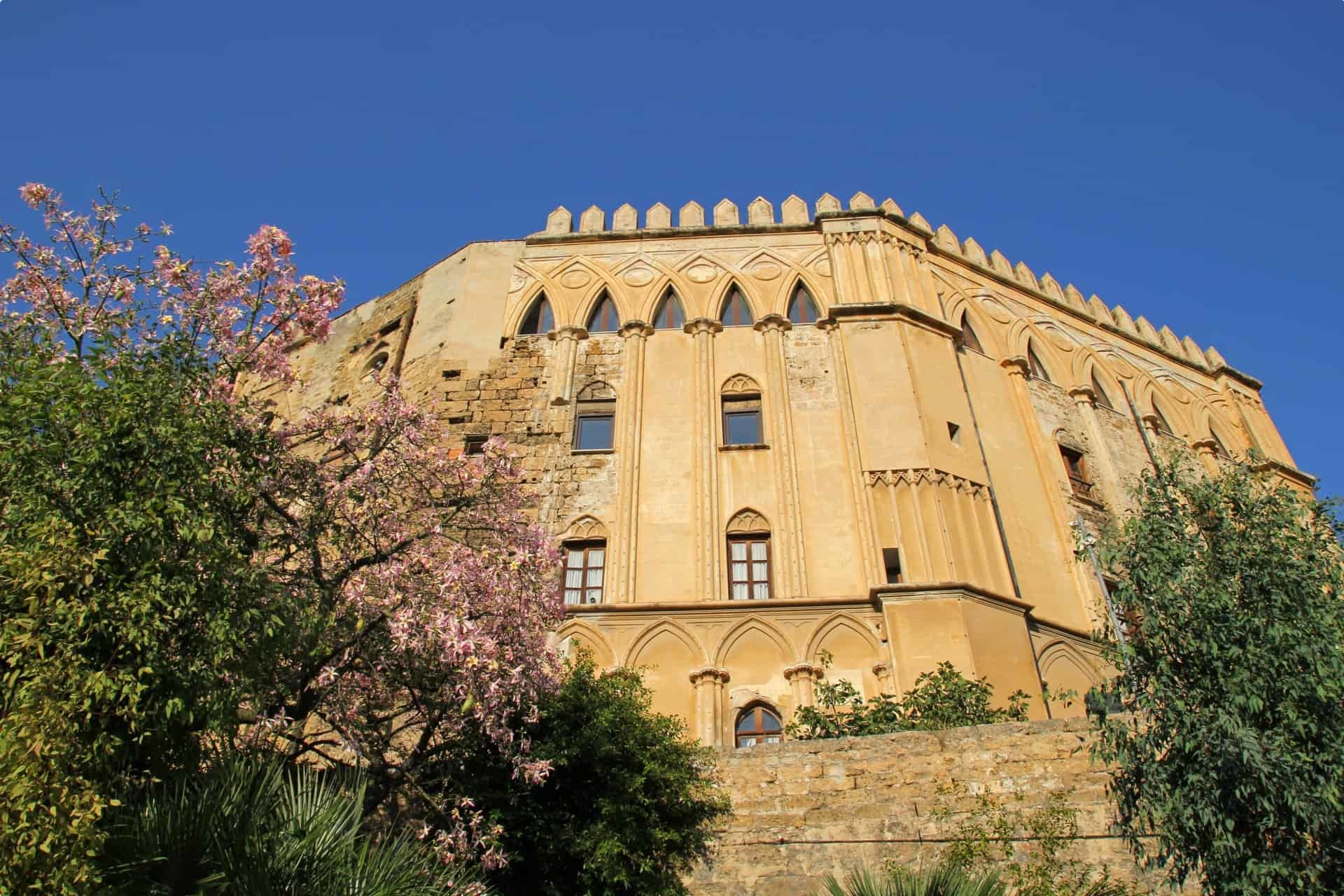 Palazzo dei Normanii in Palermo, Sicily