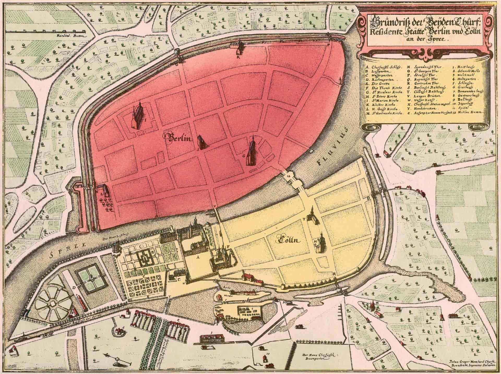 Image of map, Berlin