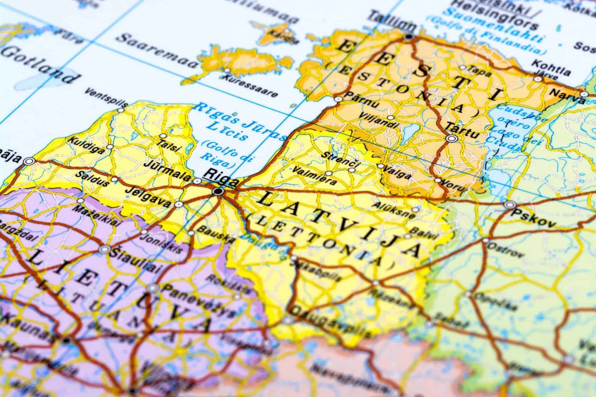 Lithuania Latvia Estonia