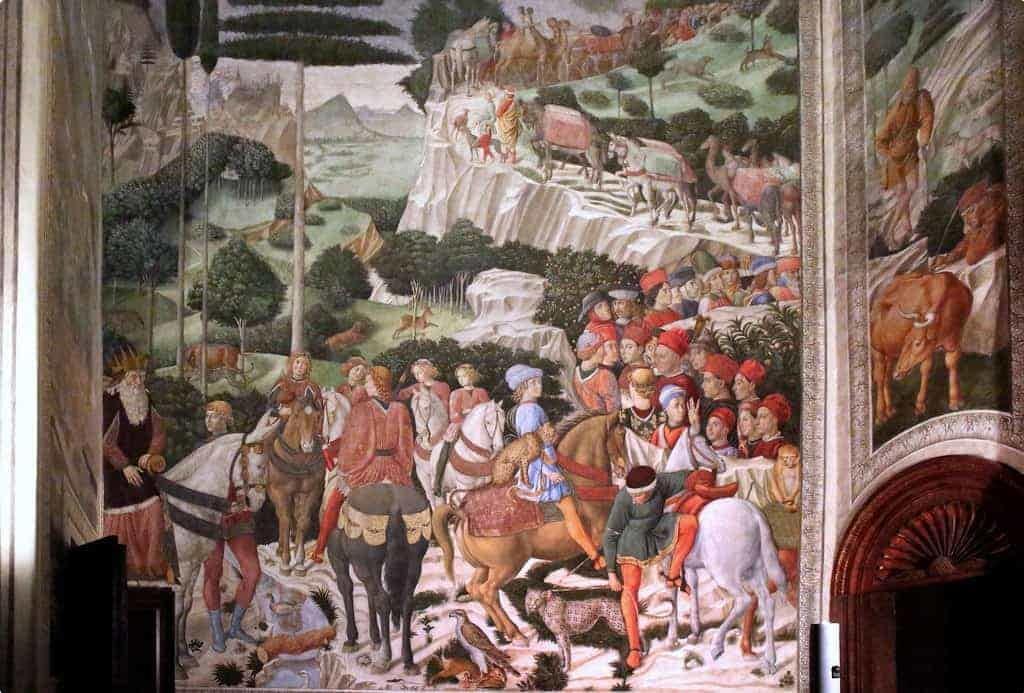 Journey of the Magi: Benozzo Gozolli: Palazzo Medici-Riccardi: Florence