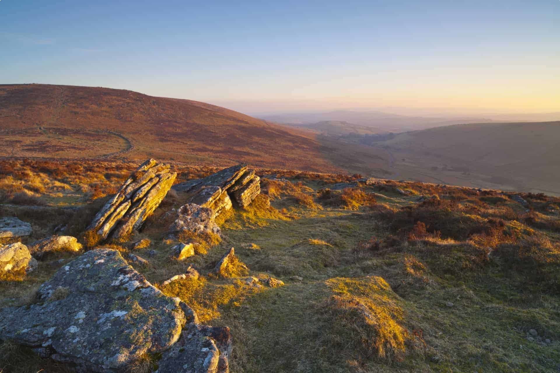 England tour Dartmoor National Park