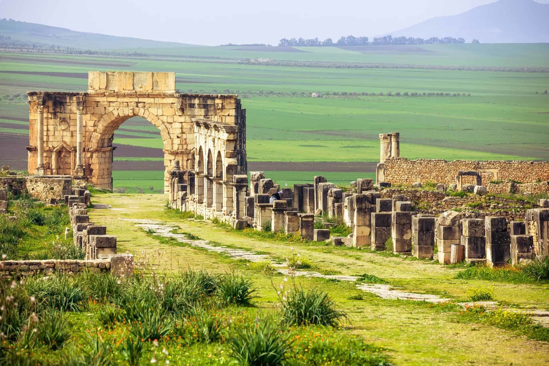 seniors tour escorted Morocco ruins meknes