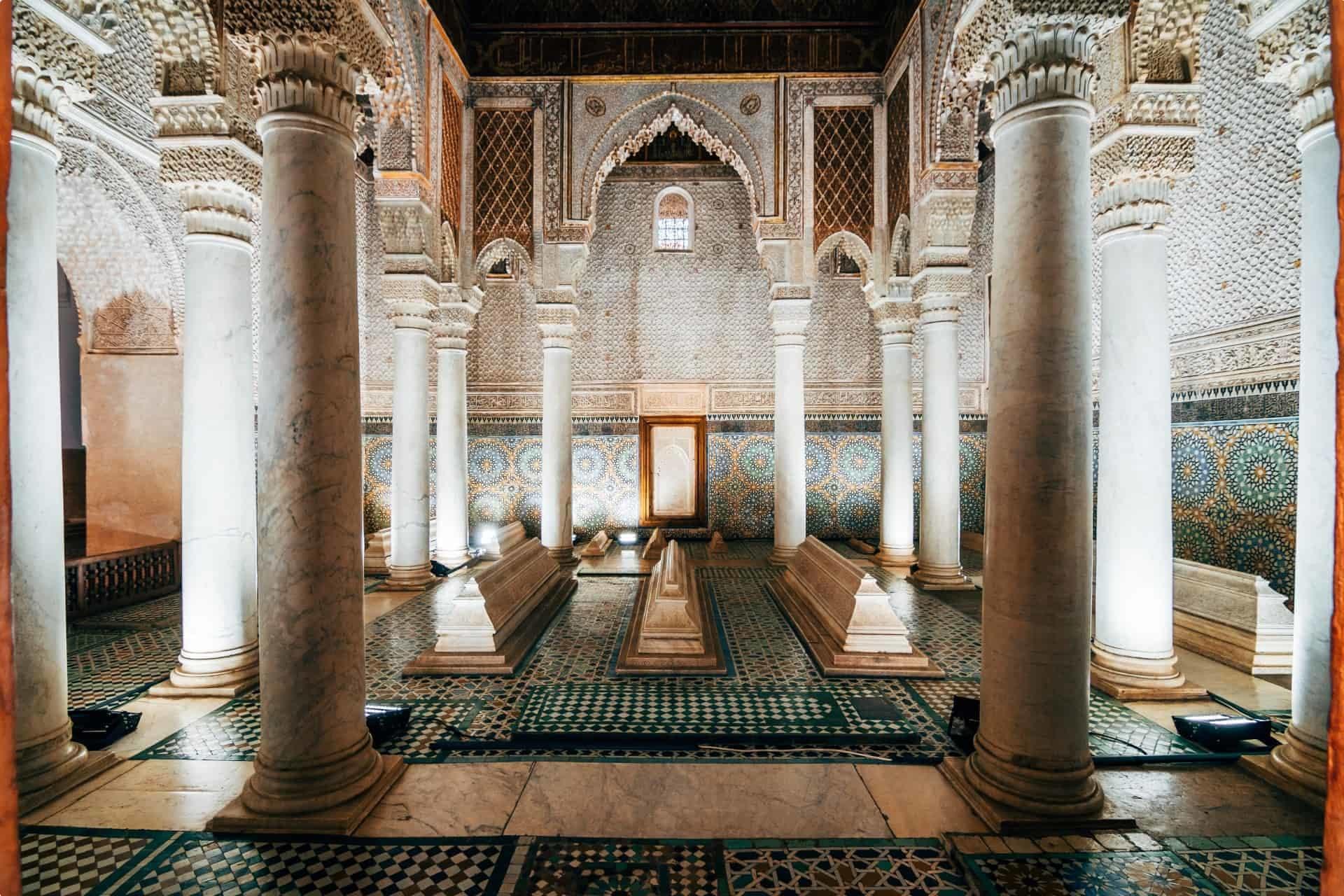 morocco tombs saadi