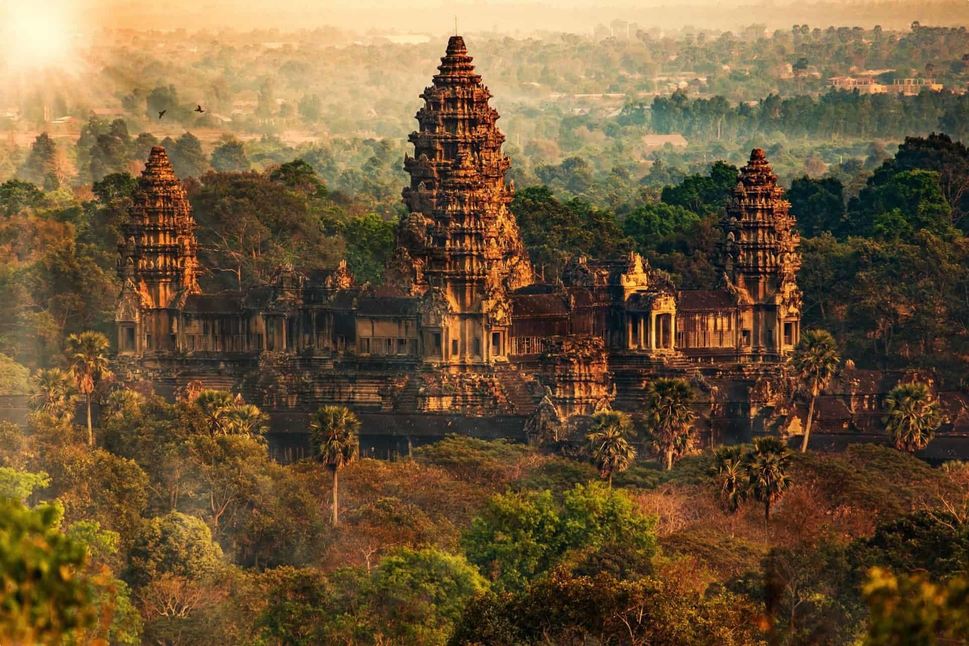 Angkor Wat, Cambodia, Indochina