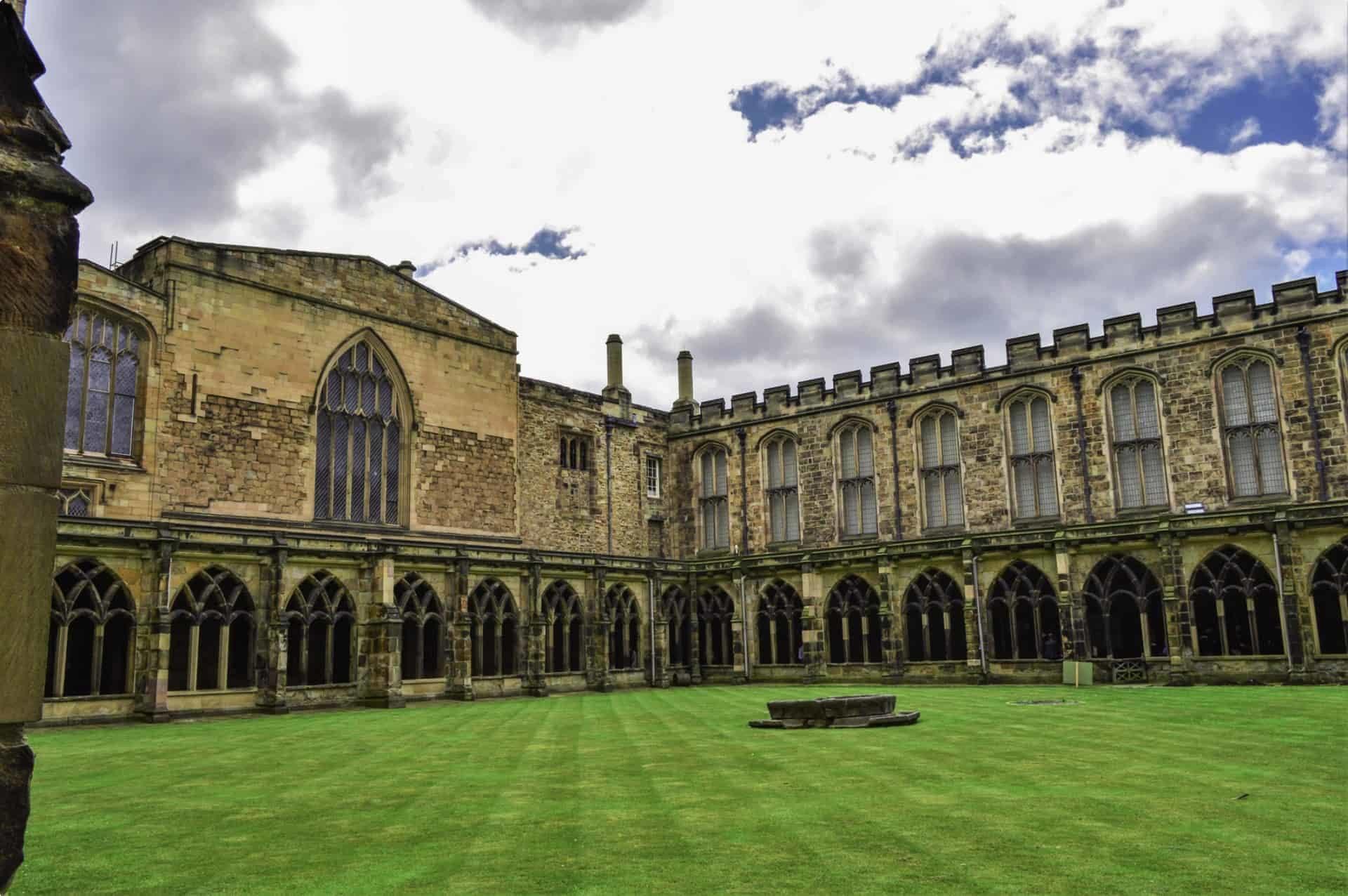 Durham Cathedral courtyard