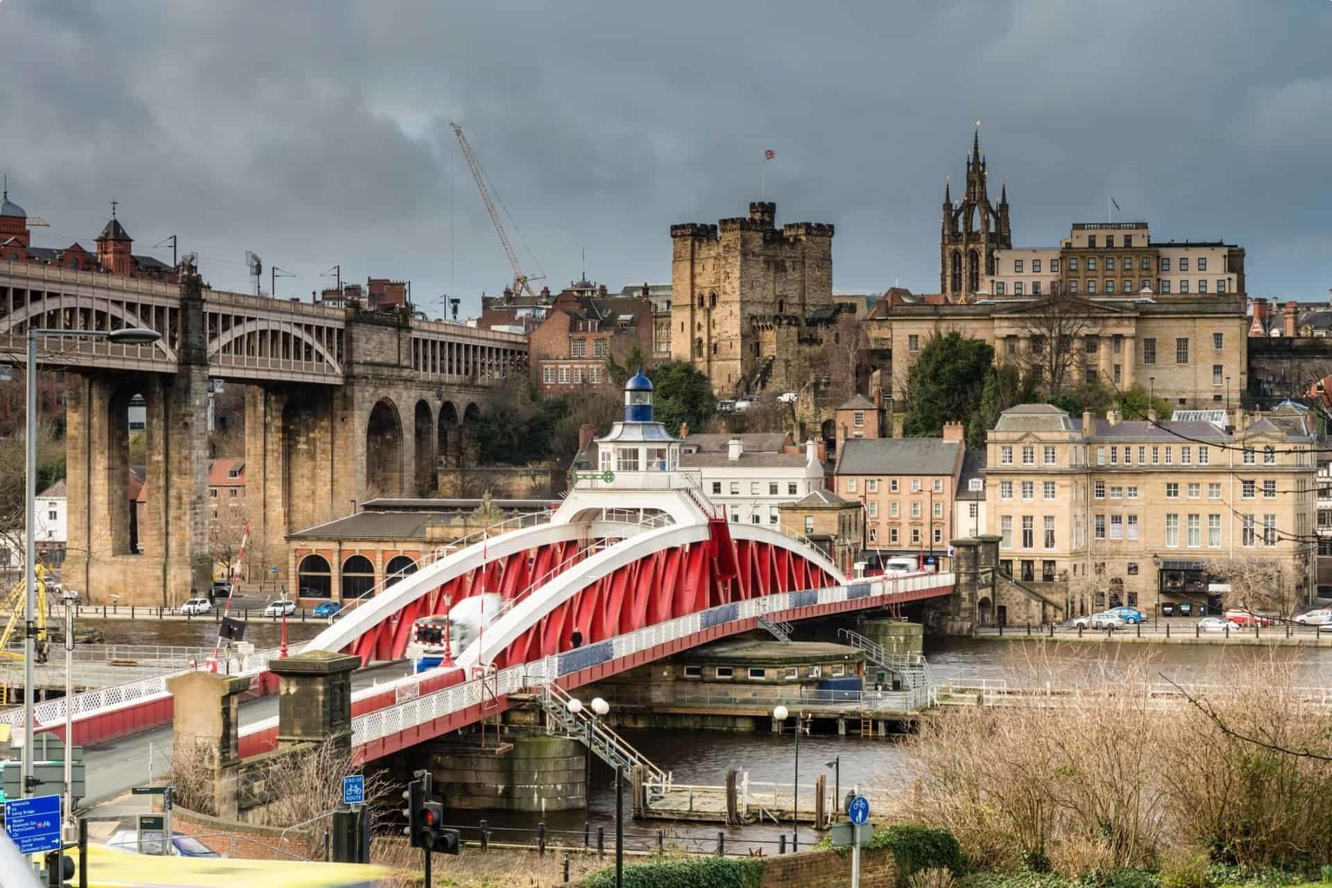 Newcastle Swing Bridge UK